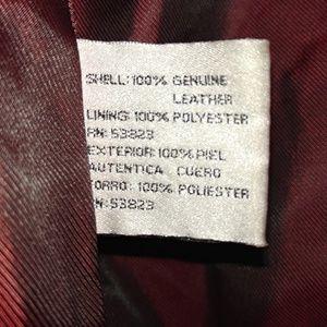 Oleg Cassini 100% real leather jacket-